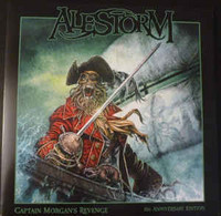 Alestorm ‎– Captain Morgan's Revenge: 10th Anniversary Edition (CD, New)