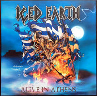 Iced Earth ‎– Alive In Athens (5 x LP, Uusi)