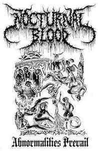 Nocturnal Blood ‎– Abnormalities Prevail LP (uusi)