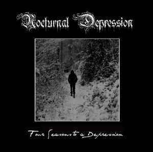 Nocturnal Depression ‎– Four Seasons To A Depression LP (uusi)