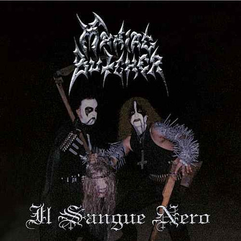 Maniac Butcher - Il Sangue Nero (LP, Uusi)