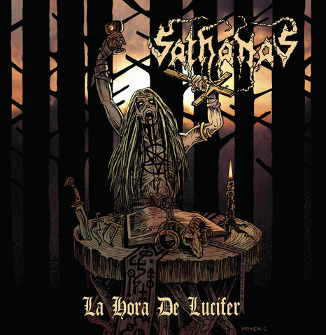 Sathanas ‎– La Hora De Lucifer LP (new)
