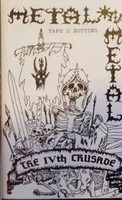 Metal On Metal - The IVth Crusade Tape I: Rotting - C-kasetti (uusi)