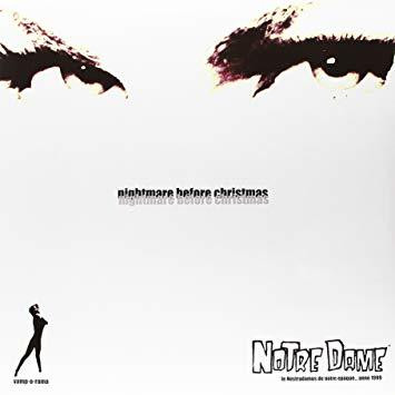 Notre Dame ‎– Nightmare Before Christmas LP (new)