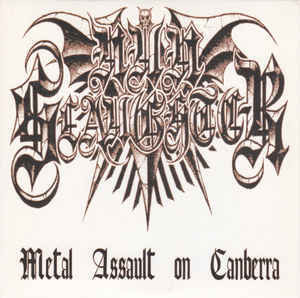 NunSlaughter ‎– Metal Assault On Canberra LP 7'' (käytetty)