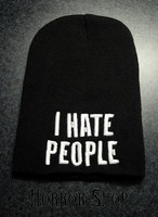 I really hate people -pipo