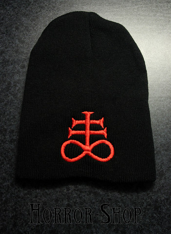 Cross of Leviathan, red -beanie