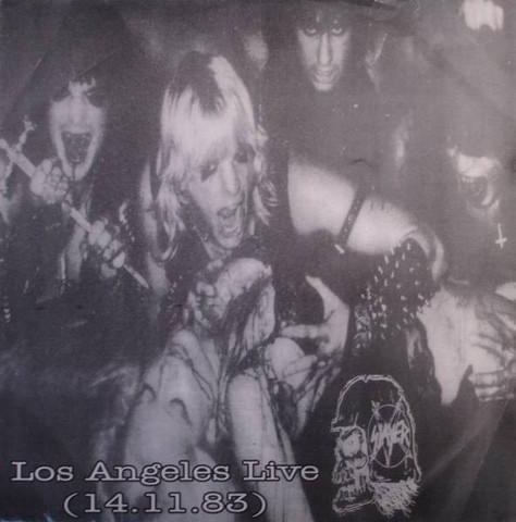 Slayer ‎– Los Angeles Live (14.11.83) LP 7'' (used)