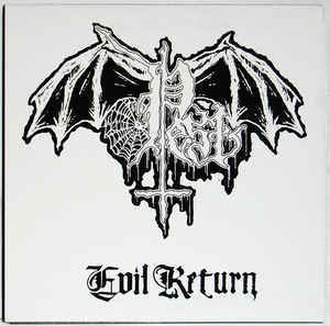 Pest ‎– Evil Return LP 7'' (käytetty)