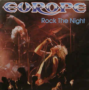 Europe  ‎– Rock The Night LP 7'' (used)