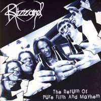 Blizzard ‎– The Return Of Pure Filth And Mayhem LP 7'' (used)