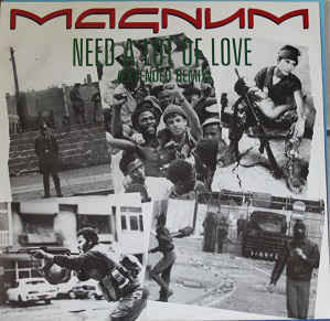 Magnum ‎– Need A Lot Of Love (7'', Used)
