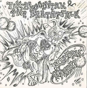 Tik-Bloodytak & The Bratattack ‎– Electric Rabbit LP 7'' (used)