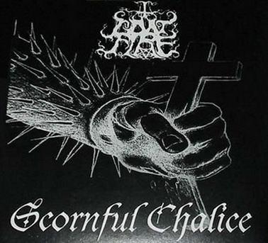 Impending Doom / Goatfire – Luciferian Curse & Headshot Christ / Scornful Chalice LP 7'' (used)