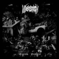 Koldbrann / Faustcoven – Pogrom Pestilent / Orgy In Sodom LP 7'' (käytetty)
