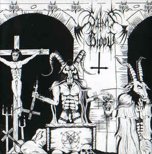 Satan's Blood / Kult Ov Azazel ‎– Untitled / Revelations Reflected From A Dead Jehovahs Eyes LP 7'' (used)