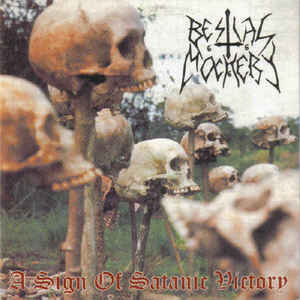 Bestial Mockery ‎– A Sign Of Satanic Victory LP 7'' (used)
