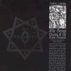 Thralldom ‎– The Seven Heads Of The Lion-Serpent LP 7'' (used)