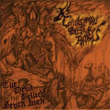 Cauldron Black Ram ‎– The Devil Bellied Seven Inch lp 7'' (käytetty)