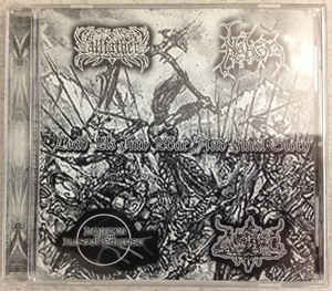 Allfather / Nebron / Hordes Of The Lunar Eclipse / Gnostic ‎– Lead Us Into War And Final Glory (CD, Used)