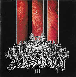 Aosoth ‎– III (Violence And Variations) CD (new)