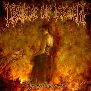 Cradle Of Filth ‎– Nymphetamine CD (used)