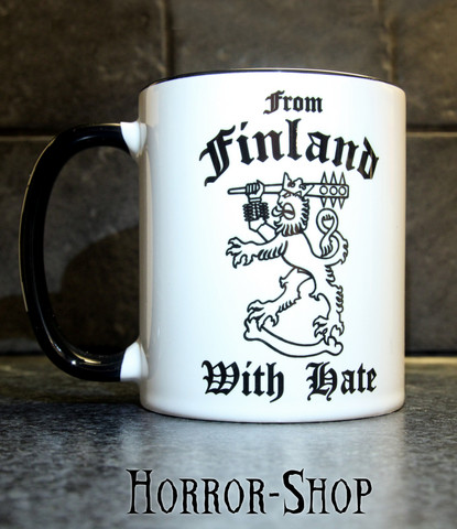 From Finland with hate -mug