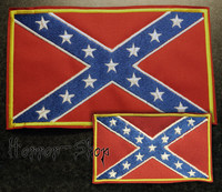 Rebel Flag -patch (normal size)