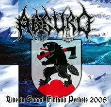 Absurd - Live in Suomi Finland Perkele 2008 (CD, New)