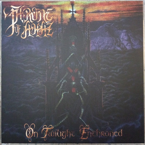 Throne Of Ahaz ‎– On Twilight Enthroned (LP, New)