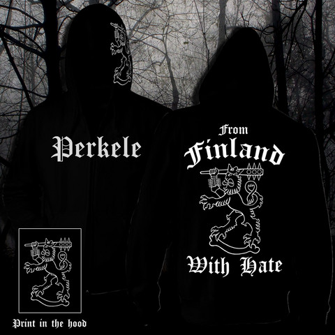 From Finland With Hate (Vetoketjullinen huppari)