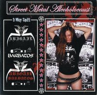 Abigail / Barbatos / Abigail Barbatos - Sweet Metal Alcoholocaust - 3 Way Split (CD, New)