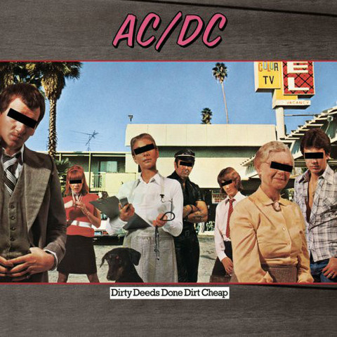 AC/DC - Dirty Deeds Done Dirt Cheap (CD, Used)