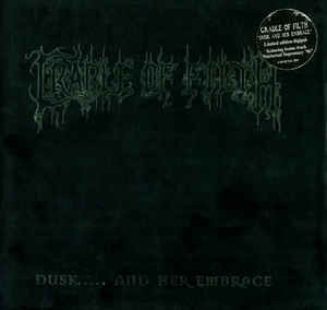 Cradle Of Filth - Dusk..... And Her Embrace (CD, Used)