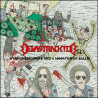 Devastracktor - Warhorsepowers and a Megaton Of Balls (CD, New)