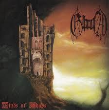 Grimoria / Iraven - Split (CD, Used)