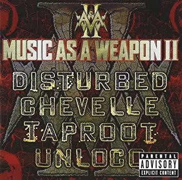 Disturbed / Chevelle / Iaproot / Unloco - Music as a Weapon II (CD + DVD, Used)