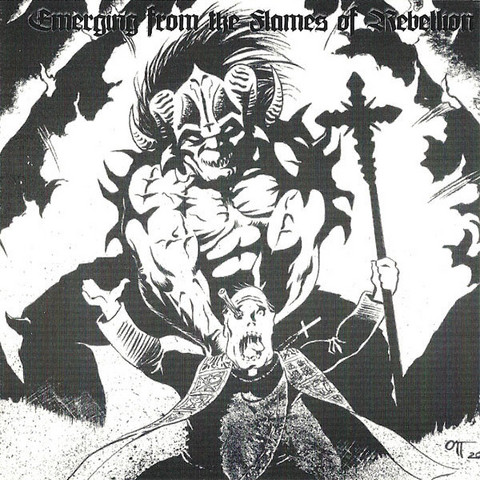 Black Metal compilation - Emerging from the Flames of Rebellion (CD, Used)