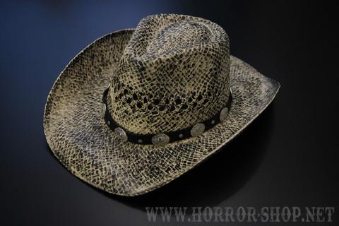 Rattlesnake cowboy hattu