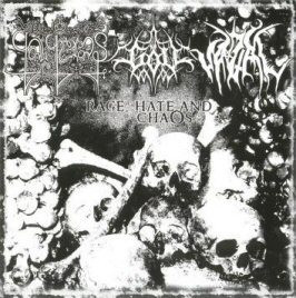 Galgeras / Vazal / Göll - Rage, Hate and Chaos (CD, Käytetty)