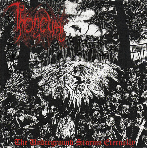 Throneum - The Underground Storms Eternally (CD, Käytetty)