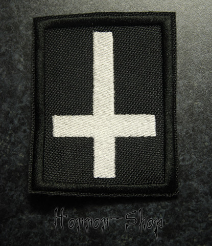 Inverted cross patch