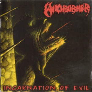Witchburner - Incarnation Of Evil / German T. War (CD, Uusi)