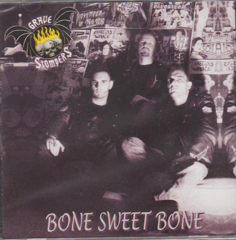 Grave Stompers – Bone Sweet Bone (CD, New)