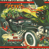 Sir Psyko & His Monsters – Zombie Rock   (CD, uusi)