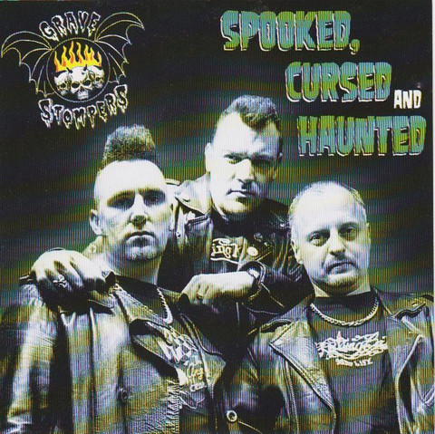 Grave Stompers – Spooked, Cursed & Haunted (CD, uusi)