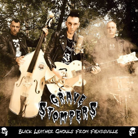 Grave Stompers – Black Leather Ghouls From Fiendsville  (CD, New)