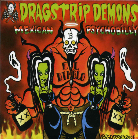 Dragstrip Demons – Mexican Psychobilly (CD, New)