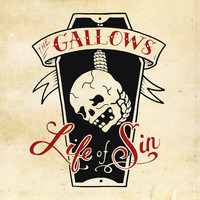 GALLOWS - Life Of Sin  (CD, uusi)