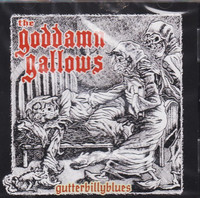 Goddamn Gallows – Gutterbillyblues  (CD, uusi)